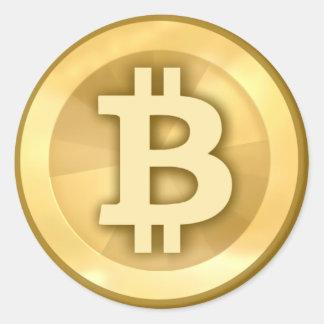 Pegatina de Bitcoin