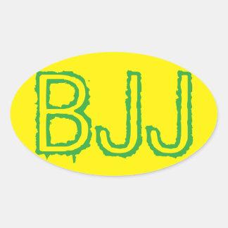 Pegatina de BJJ - pegatina de Jiu Jitsu del