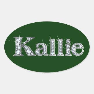 """Pegatina de Bling del diamante de """"Kallie"""""""