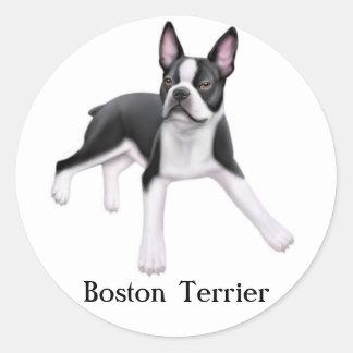 Pegatina de Boston Terrier