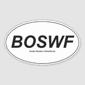 Pegatina de BOSWF - pegatina del sur de la costa