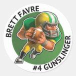 Pegatina de Brett Favre