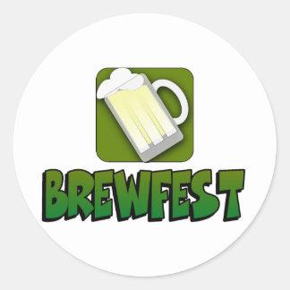 Pegatina de Brewfest