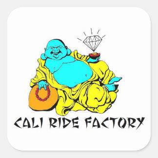 Pegatina de Buda de la fábrica del paseo de Cali