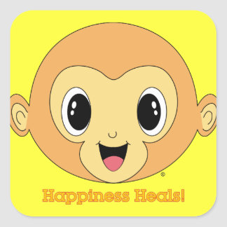 Pegatina de Buda Monkey™