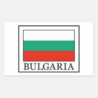 Pegatina de Bulgaria