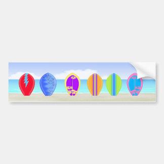Pegatina de Bumber de la playa de las tablas hawai Pegatina Para Auto