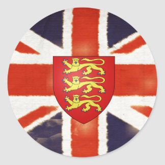 Pegatina de Bumpuer del escudo de armas de Union