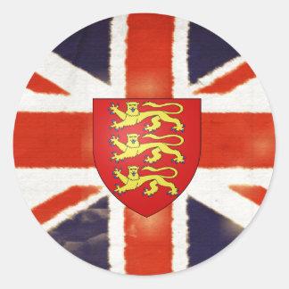 Pegatina de Bumpuer del escudo de armas de Union J