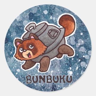 Pegatina de Bunbuku