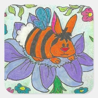 Pegatina de Bunneh de la miel