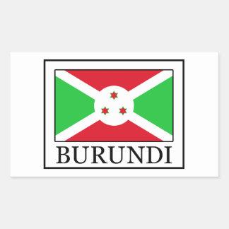 Pegatina de Burundi