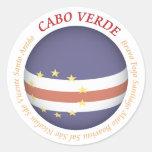 Pegatina de Cabo Verde