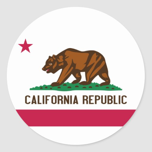 Pegatina de California