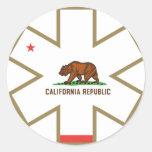 Pegatina de California el ccsme
