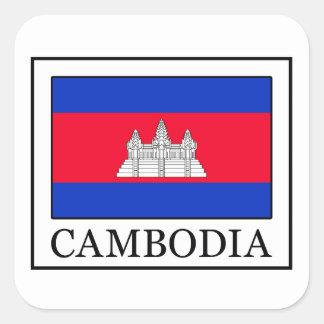 Pegatina de Camboya
