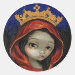 """Pegatina de Catherine del santo"""
