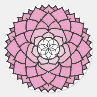 Pegatina de Chakra de la corona