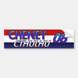 Pegatina de Cheney Cthulhu 08 Pegatina De Parachoque