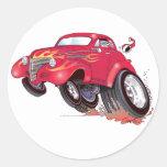 Pegatina de Chevy de Santa 39