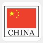 Pegatina de China