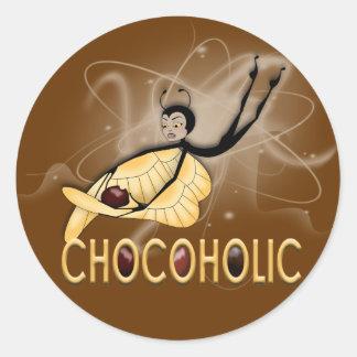 Pegatina de Chocoholic