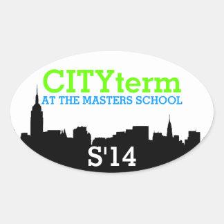 Pegatina de CITYterm S'14