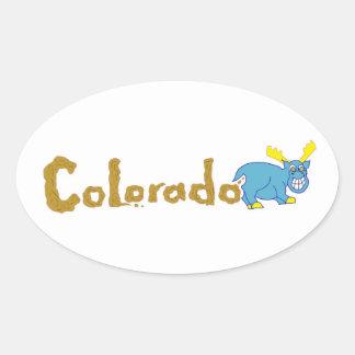 Pegatina de Colorado Mooser