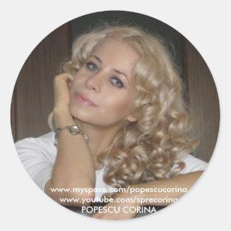Pegatina de Corina Popescu