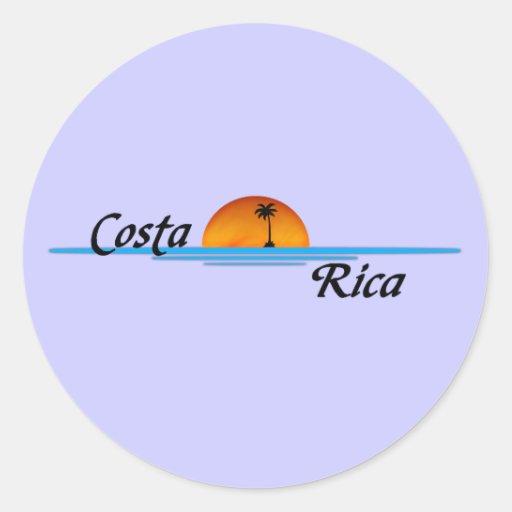 Pegatina de Costa Rica
