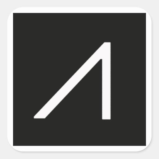 Pegatina de cristal del logotipo de Google