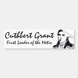 Pegatina de Cuthbert Grant de la pegatina para el  Pegatina Para Auto