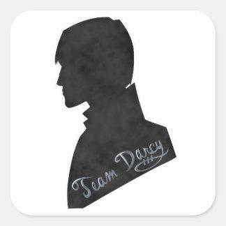 Pegatina de Darcy del equipo - orgullo y perjuicio