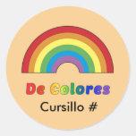 Pegatina de De Colores Rainbow