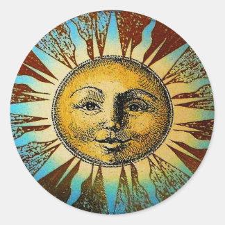 Pegatina de dios del sol