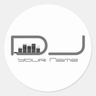 Pegatina de DJ