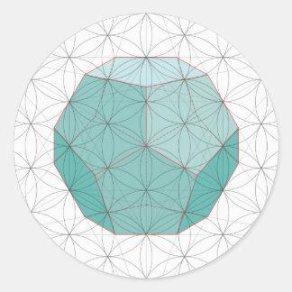 Pegatina de Dodecahedron
