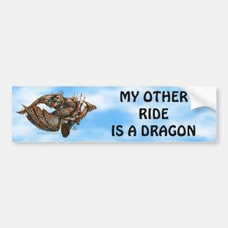 Pegatina de Dragongiant (color) Pegatina De Parachoque