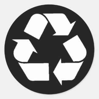 Pegatina de EcoFlair - recicle
