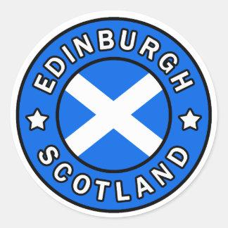Pegatina de Edimburgo Escocia