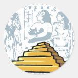 Pegatina de Egipto