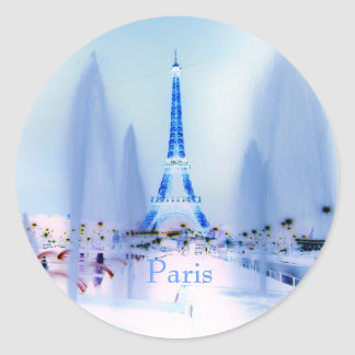 "Pegatina de ""Eiffel HELADO"""