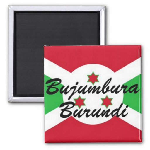Pegatina de encargo de Africankoko Buyumbura Burun Imán Para Frigorifico