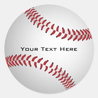 Pegatina de encargo del béisbol