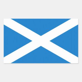 pegatina de Escocia por el highsaltire