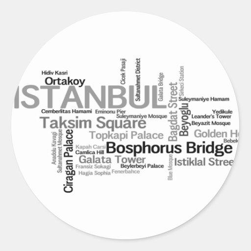 Pegatina de ESTAMBUL