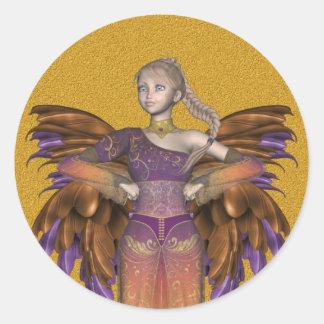 Pegatina de Fairys de los ángeles