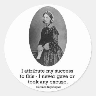 Pegatina de Florence Nightingale