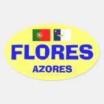 Pegatina de Flores Azores