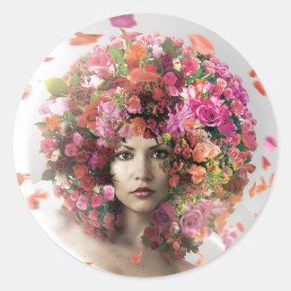 Pegatina de Flowerhead